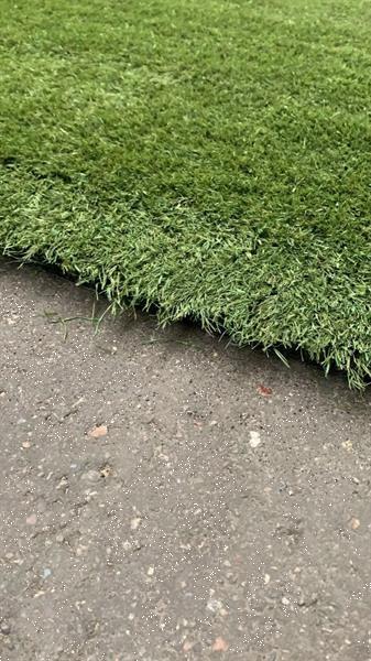 Grote foto gebruikt kunstgras tuin en terras gras en kunstgras