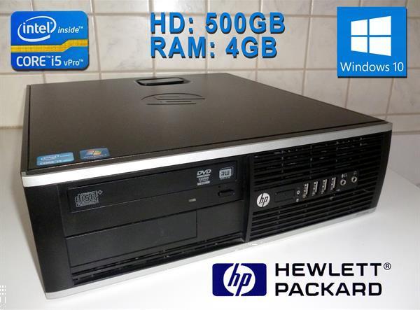 Grote foto computer hp elite met i5 processor en windows10 computers en software desktop pc