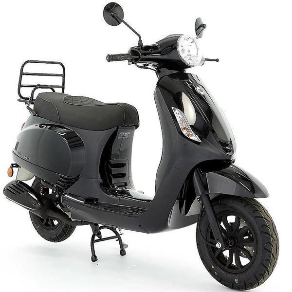 Grote foto dts milano r euro 5 zwart bij central scooters kopen 1249 motoren overige merken
