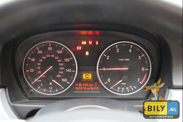 Grote foto in onderdelen bmw e91 318i 11 touring n43 auto onderdelen interieur en bekleding