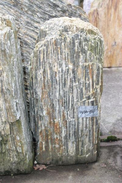 Grote foto ruwe natuursteen woodymem tuin en terras sierstenen en rotsen