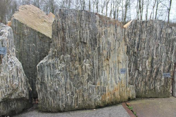 Grote foto ruwe natuursteen woodymemxl tuin en terras sierstenen en rotsen