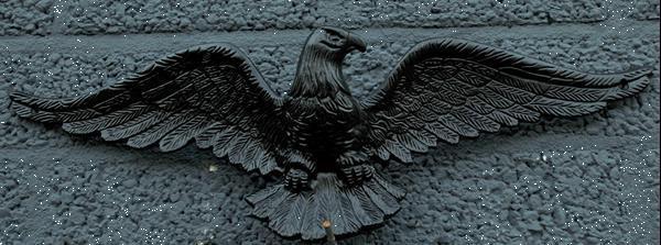 Grote foto wand decoratie gietijzeren adelaar prachtige eye catcher verzamelen beelden en beeldjes