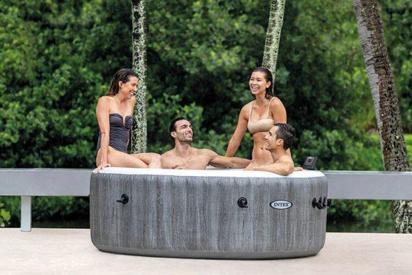 Grote foto intex purespa bubble massage tuin en terras zwembaden en spa