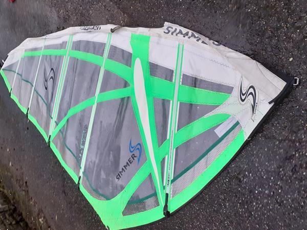 Grote foto diverse windsurf watersport en boten surfen windsurfen
