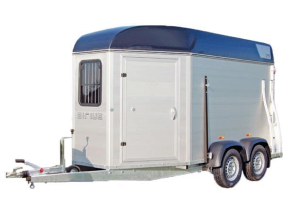 Grote foto sirius s60 aluminium340 x 171 2500 kg paardentrailer dieren en toebehoren paarden accessoires