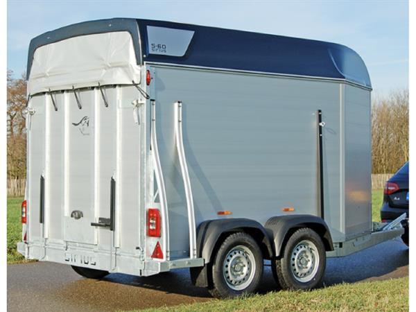 Grote foto siriuss60 aluminium340 x 171 2500 kg paardentrailer dieren en toebehoren paarden accessoires
