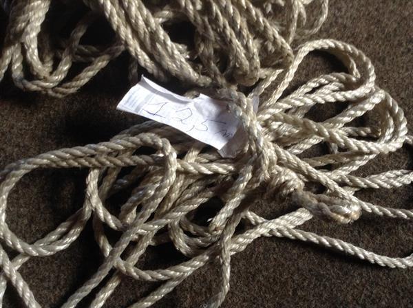 Grote foto zeer sterke nylon touw 1 18 m lang 1 12 5 m lang watersport en boten accessoires en onderhoud
