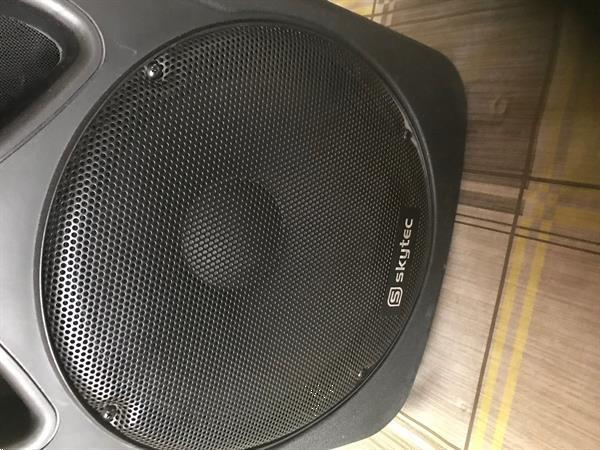 Grote foto active monitor muziek en instrumenten speakers