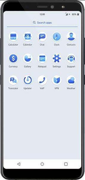 Grote foto totalsec phone with voip chat telegram bitcoin telecommunicatie overige merken