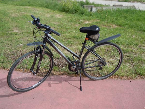 Grote foto sportieve damesfiets fietsen en brommers damesfietsen