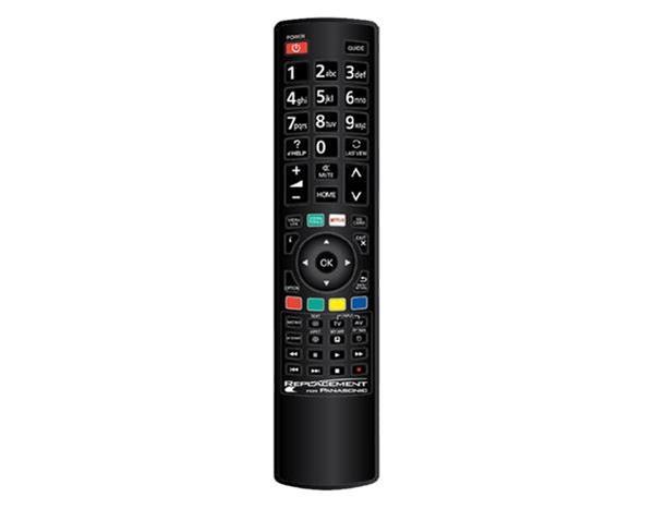 Grote foto edision vervangende afstandsbediening voor panasonic audio tv en foto afstandsbedieningen