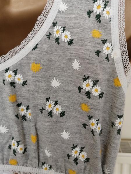 Grote foto lichtgrijze bustier crop top met slip nieuw kleding dames ondergoed en lingerie