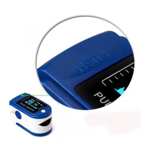 Grote foto oximeter hartslagmeter zuurstofmeter saturatiemeter vinger sport en fitness onderdelen en accessoires