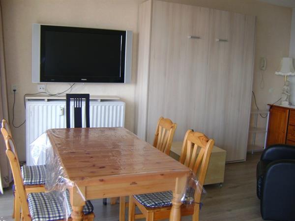 Grote foto appartement zeezicht grote studio zonnekant nwp vakantie strandvakanties