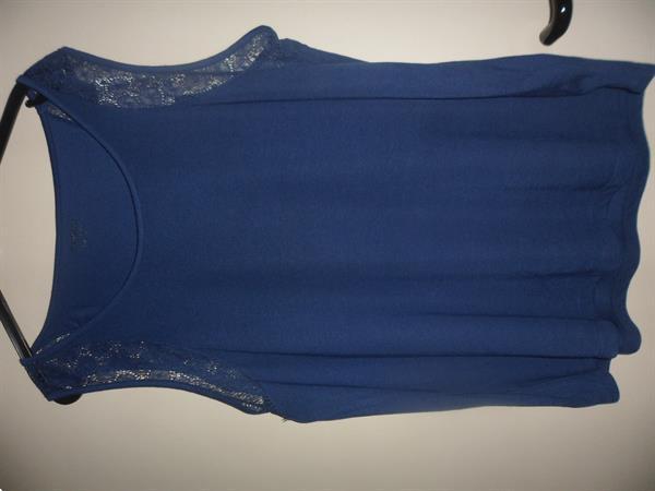 Grote foto blauwe top kleding dames tops
