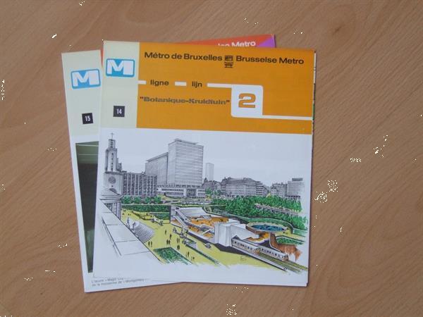 Grote foto brusselse metro 2000 boeken overige boeken