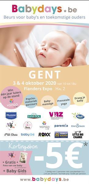 Grote foto babydays gent 3 4 oktober 2020 kinderen en baby kinderwagens