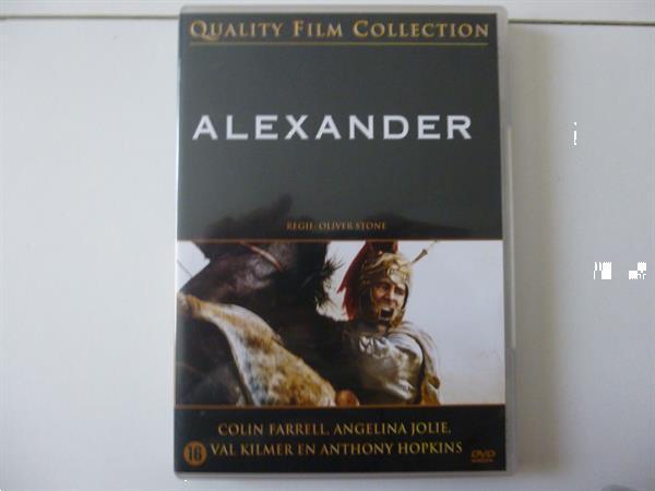 Grote foto dvd alexander 2004 collin farrell cd en dvd actie