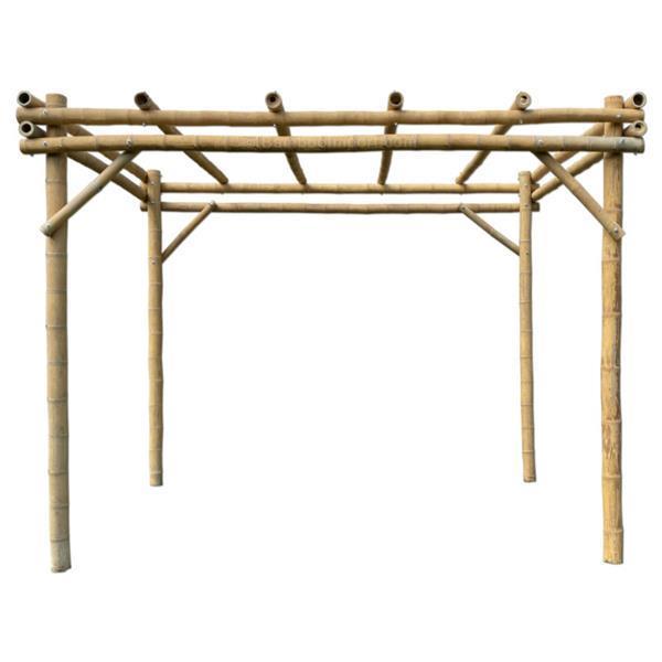 Grote foto klusser gezocht voor bamboe pergola tuin en terras veranda en overkappingen
