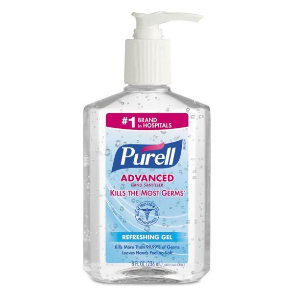 Grote foto purell advanced hand sanitizer beauty en gezondheid deodorant sprays