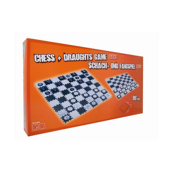 Grote foto groot schaak en damspel alleen deze week 25 extra korting kinderen en baby overige
