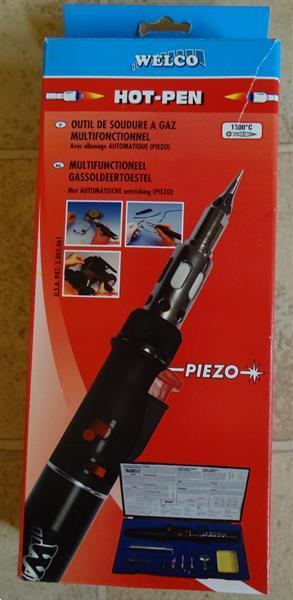 Grote foto multifunctioneel gassoldeertoestel welco hot pen doe het zelf en verbouw soldeermateriaal
