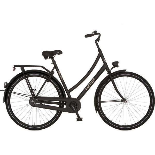 Grote foto cortina u1 28 inch damesfiets black matt rn fietsen en brommers damesfietsen