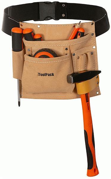 Grote foto gereedschapriem regular met 1 holster outledje doe het zelf en verbouw gereedschappen en machines