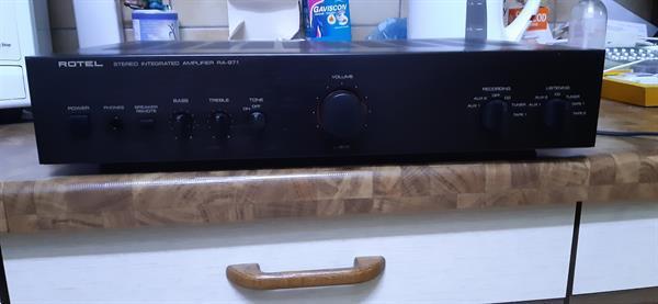 Grote foto rotel ra 971 audio tv en foto versterkers en receivers
