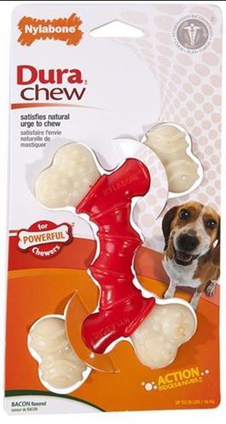 Grote foto nylabone extreme chew voor harde bijters baconsmaak tot 16 k dieren en toebehoren toebehoren