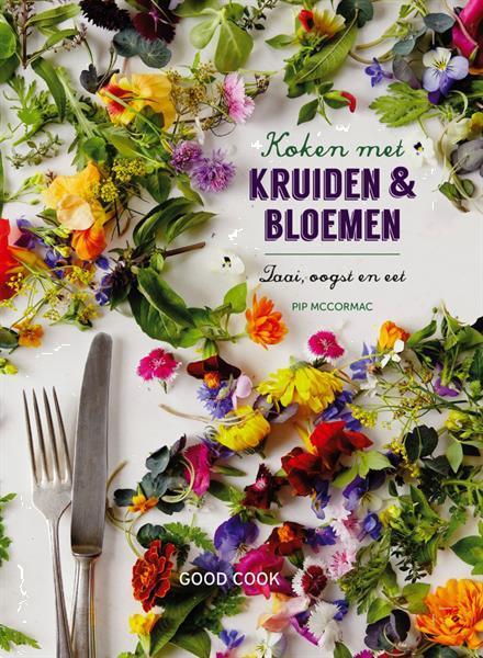 Grote foto koken met kruiden bloemen boeken overige boeken