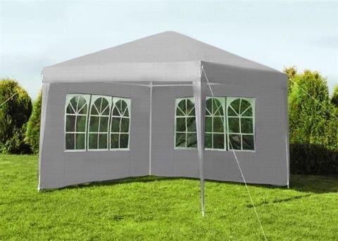 Grote foto partytent 3x3m met 2 wanden nieuw af fabriek tuin en terras parasols en partytenten