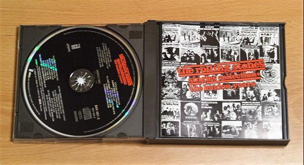 Grote foto the rolling stones cd en dvd verzamelalbums