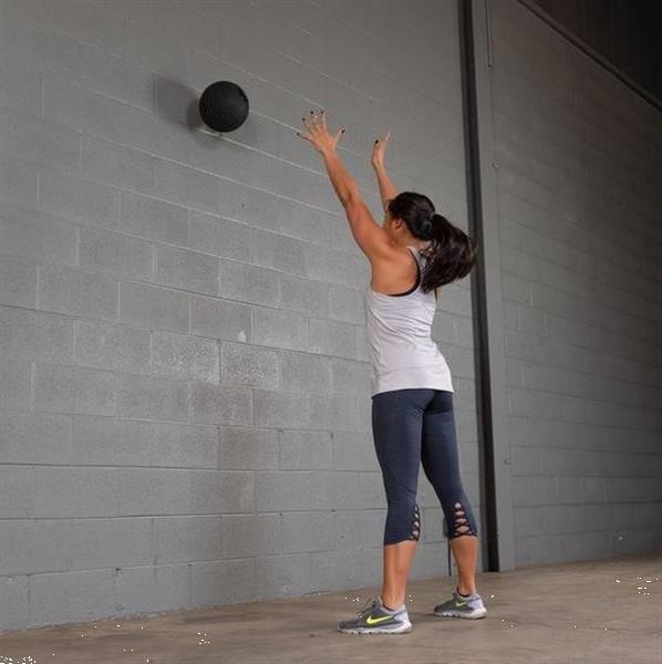Grote foto body solid premium tire tread slam ball 9 1 kg sport en fitness fitness