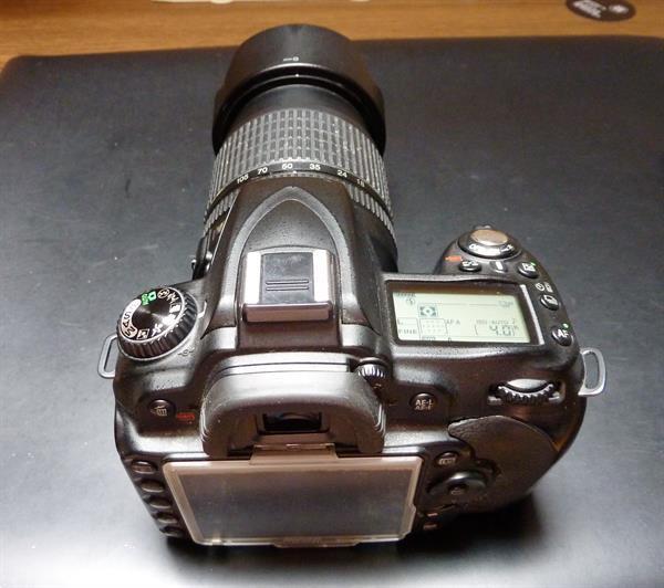 Grote foto nikon d90 met lenzen audio tv en foto camera digitaal