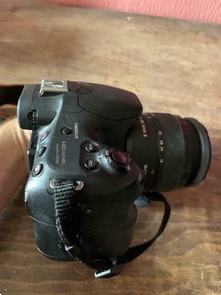 Grote foto sony slt alpha 58 spiegelreflexcamera audio tv en foto camera digitaal