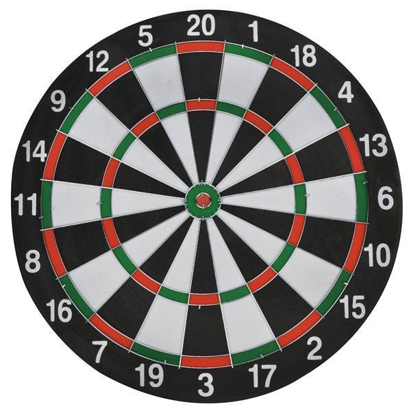 Grote foto dartbord met 6 darts 35 cm diameter sport en fitness overige sport en fitness