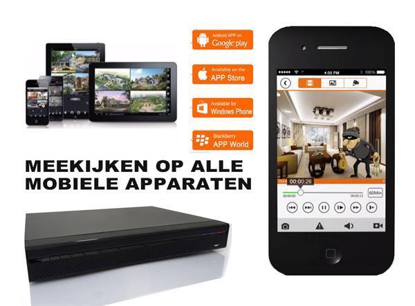 Grote foto 5mp dahua videobeveiligingset. kleur nachtzicht. audio tv en foto videobewakingsapparatuur