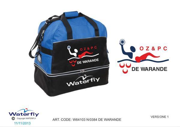 Grote foto custom design de warande waterfly zwemtas levertijd 4 tot watersport en boten watersportkleding