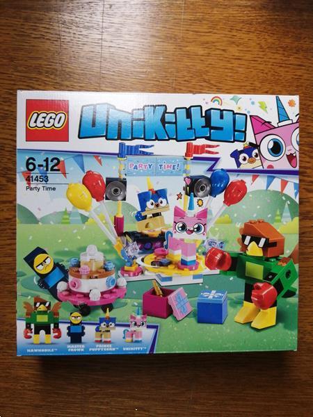 Grote foto lego unikitty 41453 party time zeldzaam retired kinderen en baby duplo en lego
