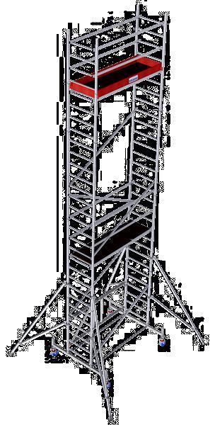 Grote foto vouwstelling 8 80m nieuw doe het zelf en verbouw steigers