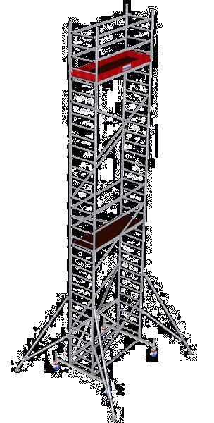 Grote foto vouwstelling 9 80m nieuw doe het zelf en verbouw steigers