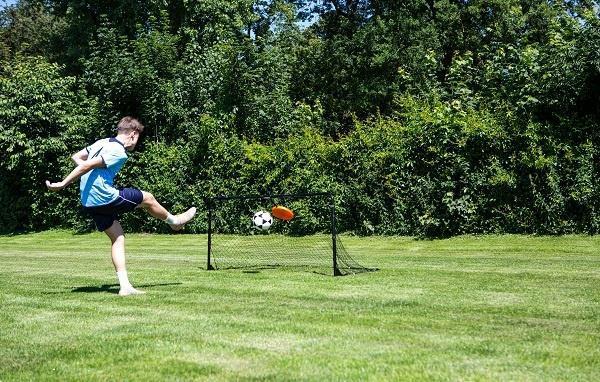 Grote foto hammer target shot pro voetbaldoel sport en fitness volleybal