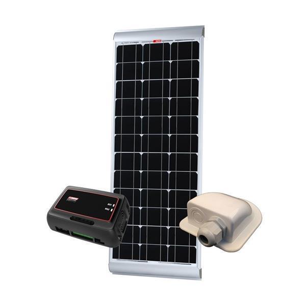 Grote foto nds solenergy 120w zonnepaneel set sc320m kp120scm caravans en kamperen overige caravans en kamperen
