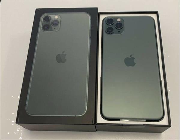 Grote foto apple iphone 11 pro iphone 11 pro max iphone 11 telecommunicatie apple iphone
