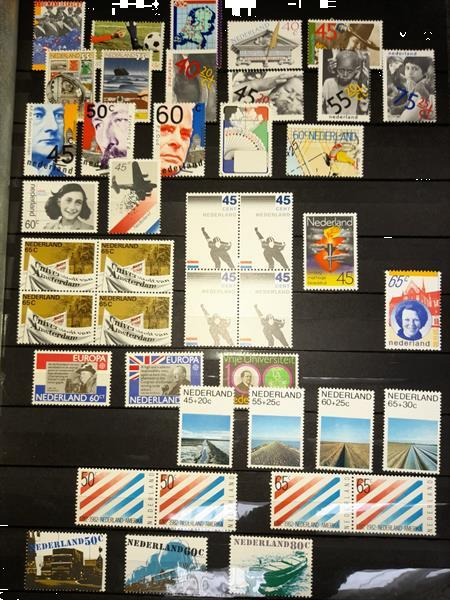 Grote foto stockboek postfris nederland postzegels en munten nederland