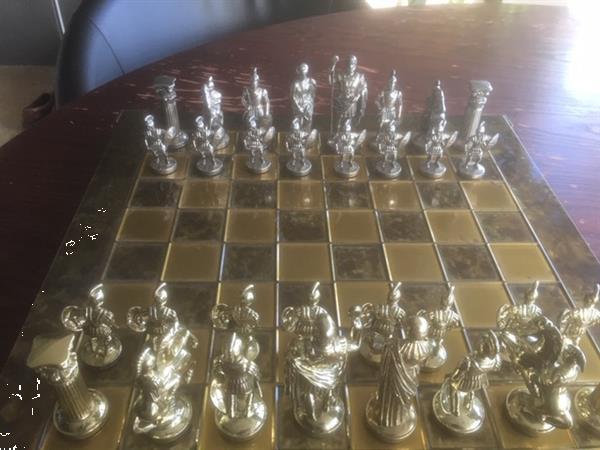 Grote foto mooi grieks schaakspel hobby en vrije tijd gezelschapsspellen bordspellen
