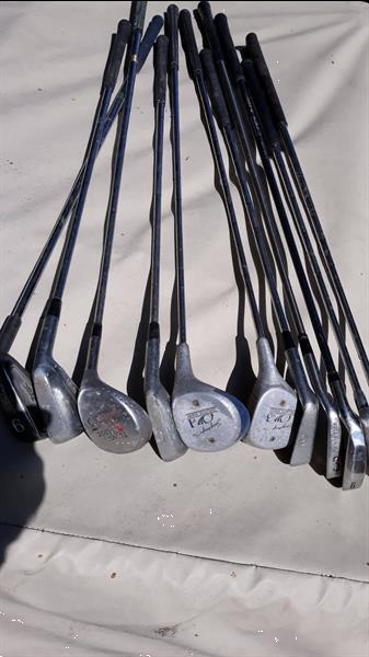 Grote foto golfclubs 11 stuks sport en fitness golf