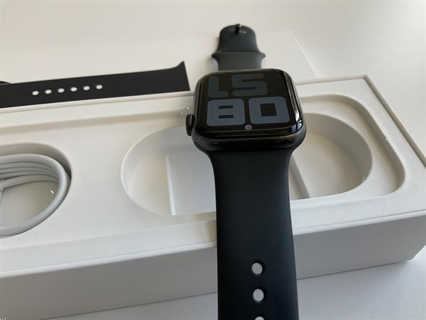 Grote foto apple watch series 5 44mm space grey telecommunicatie smartwatches